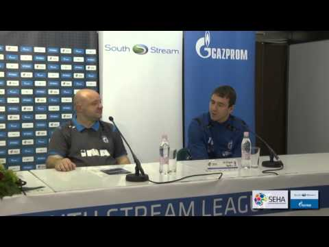 CO Zagreb - Tatran Prešov Press conference