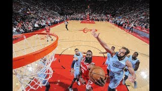 James Harden Drops 36 PTS In 1st Half and Season-High 57 PTS Total vs. Memphis Grizzlies