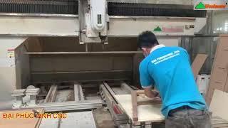 MÁY CNC 3D 5 axis Woodmaster Tại Cty B.U.I ( Máy Gia Công trung Tâm 5 Trục)