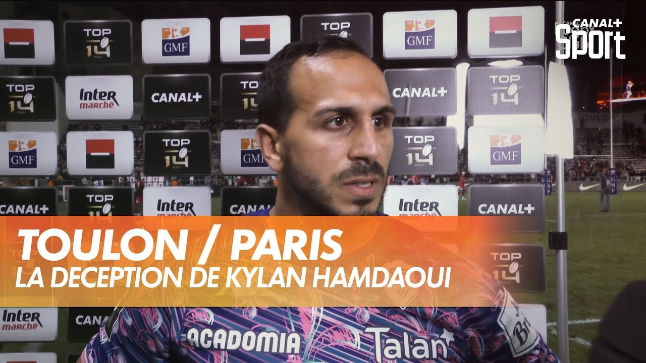 La déception de Kylan Hamdaoui après Toulon / Paris