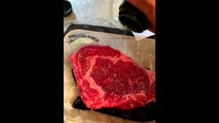 Holy Cow Cooking Show  Rib Eye Steak BeefPolitics