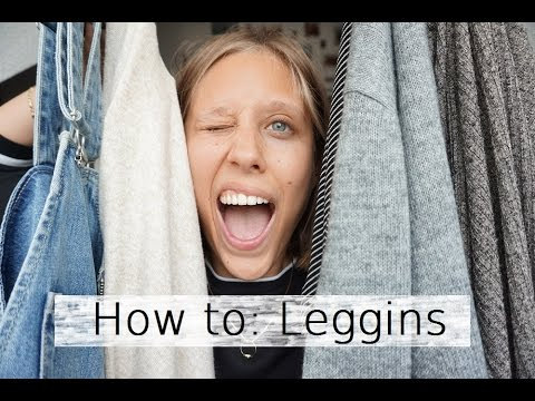 How To: Leggins II caynouch;
