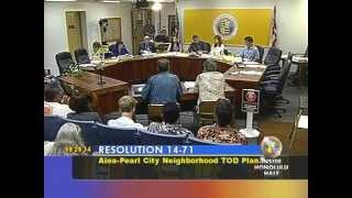 preview picture of video 'Pt 1 8/28/14 Honolulu City Council Zoning & Planning Cmt Mtg'