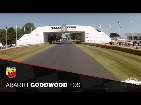 Abarth UK at the Goodwood FOS Moving Motor Show 2013