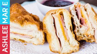How to make a Deep Fried Monte Cristo Sandwich