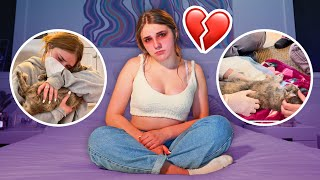SOMETHING TERRIBLE HAPPENED TO MY CAT Ashby **Emotional Goodbye**💔  Piper Rockelle