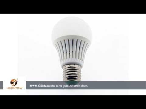 Elrigs LED Lampe mit Bewegungsmelder, E27, 5W ersetzt 40W, Hochfrequenz-Sensor, 5-8 m Reichweite,