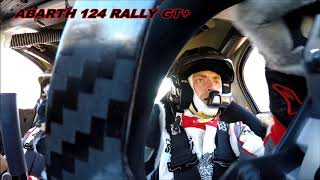 On Board Abarth 124 GT+ Vosges 2018