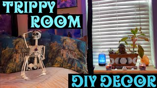 DIY ROOM DECOR! Cheap, Easy & Hippie Inspired