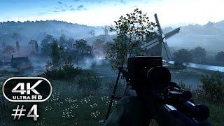 Battlefield 1 4K Gameplay Walkthrough Part 4 - BF1 Campaign 4K 60fps