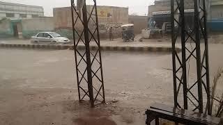 preview picture of video 'Raining in pakistan  kpk lakki marwat'