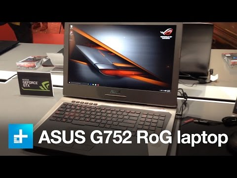 ASUS Republic of Gamers G752 laptop Hands On - IFA 2015