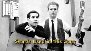 The Boxer - Simon & Garfunkel - Acoustic Guitar Lesson (detune by 1 fret)