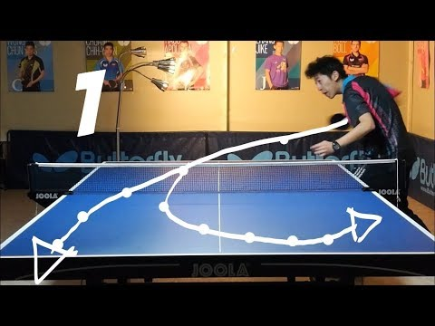 Best Table Tennis Serves Tutorial. (Pt 1: backspin, hook) — TOMORROW TABLE TENNIS