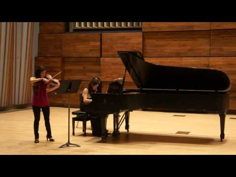 Brahms violin sonata no 2 1st mvt...