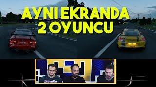 İKİ KİŞİ YARIŞTIK! | Gran Turismo Sport Türkçe İlk Bakış / İnceleme