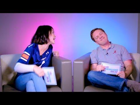 SEC Shorts - Alabama & Auburn go on dating game show together