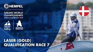Full Laser Gold Fleet Qualification Race 7 | Aarhus 2018