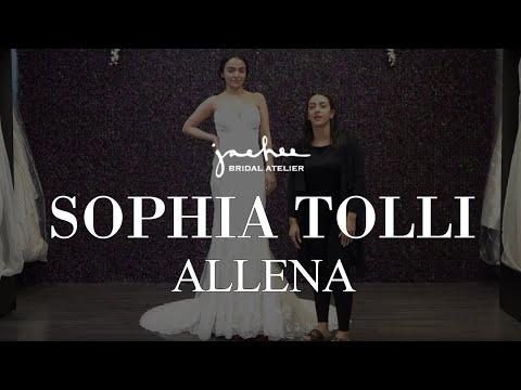 Sophia Tolli Aleena - Bridal Gown Real Review Wedding Dress | Jaehee Bridal