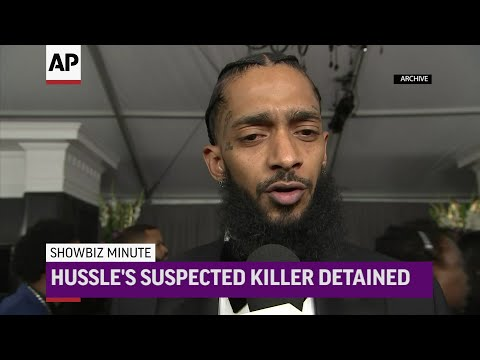 Nipsey Hussle's suspected killer caught, charges and court loom; Michelle Williams aids cause of equal pay for equal work; Prince Harry and wife Meghan open joint Instagram account. (April 3)