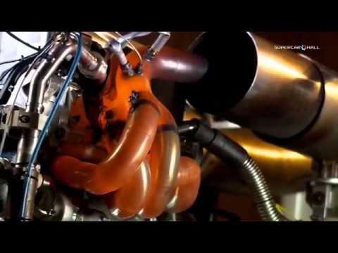 Prueba de motor f1 renault en banco de pruebas