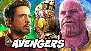 Avengers Infinity War Iron Man Captain Marvel Trailer Theory