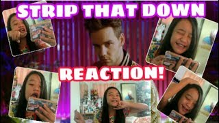 Liam Payne - Strip That Down Music Video Reaction. (GIVEAWAY)