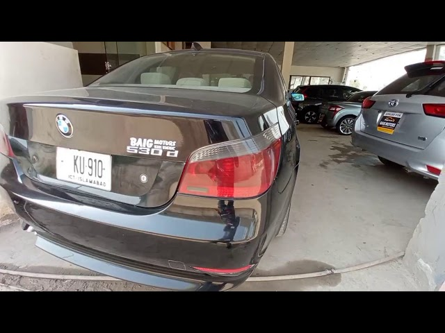 BMW 5 Series 530d 2006 for Sale in Islamabad