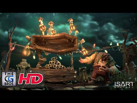 "CGI Animated Shorts : ""TOMBES & MANÈGES"" – by  ISART DIGITAL"