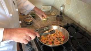 preview picture of video 'Charleston Epicurean Test Kitchen Episode 1: Shrimp and Grits featuring Geechie Boy Grits'