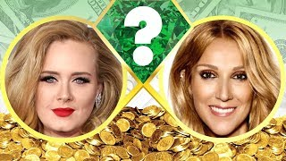 WHO'S RICHER? - Adele or Celine Dion? - Net Worth Revealed! (2017)