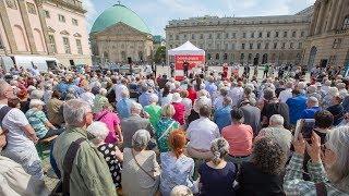 DIE LINKE: Lesen gegen das Vergessen am 10. Mai 2018 auf dem Bebelplatz in Berlin