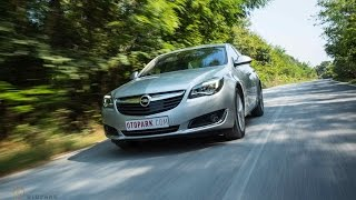 TEST | Opel Insignia Cosmo 1.6 CDTi [English Subtitled]