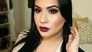 Thanksgiving Makeup Tutorial ft. Huda Beauty Palette