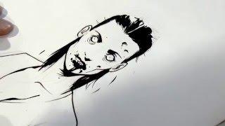 Dédicace de Philippe VANDAELE (Angoulême 2016) - Autres - ALICE MATHESON