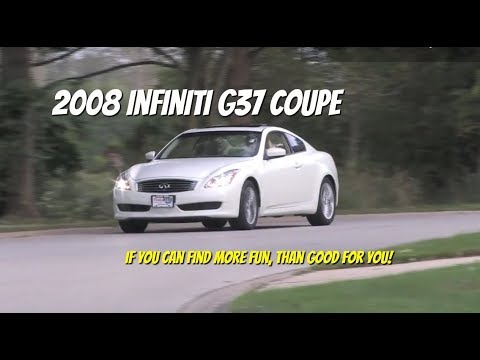 Infiniti G37 Coupe--Test Drive Video Review with Chris Moran from Chicago Motor Cars