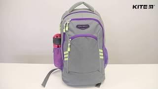 """Рюкзак спортивный Kite Sport K18-813L-2 от компании Интернет-магазин """"Радуга"""" - школьные рюкзаки, канцтовары, творчество - видео"""