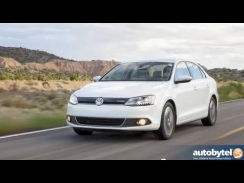 2013 Volkswagen Jetta Hybrid Video Review