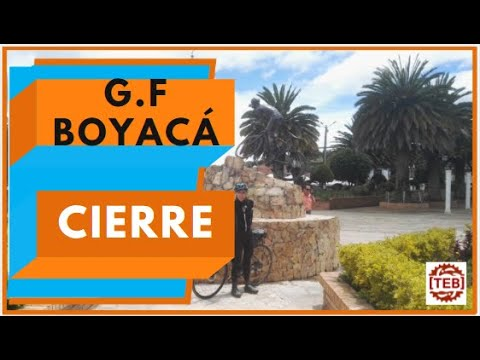 Bicicleta ruta, evento Gran Fondo Boyaca 2018. Parte 3-3 (recuperacion)