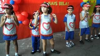 No Fundo Do Meu Coração - Sandy (Apresentação Jardim Escola João E Maria)