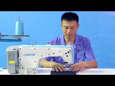 Jack A2 Auto Trimmer Single Needle Sewing Machine