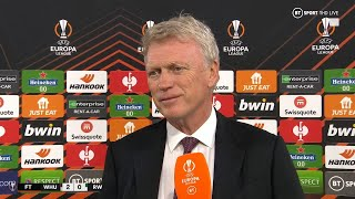 """""""We're not going to let up, we're enjoying it!"""" David Moyes happy to rest and rotate in solid win"""
