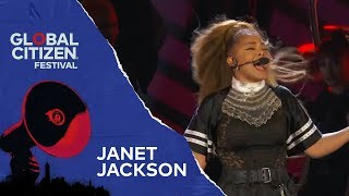 Janet Jackson Performs Made For Now | Global Citizen Festival NYC 2018