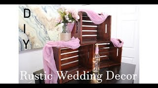 Wedding Decor DIY L Crate Cupcake Stand