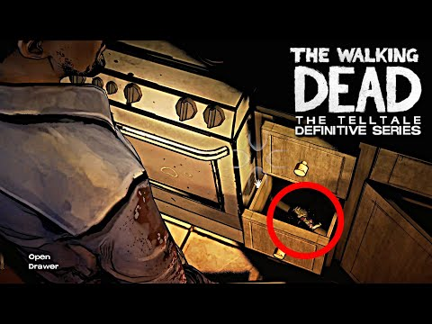 LEE FINDS DISCO BROCCOLI EASTER EGG  - The Walking Dead: Definitive Edition