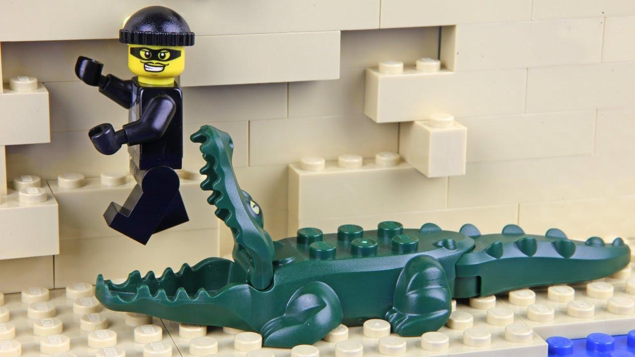 Lego Shopping Fail - Crocodile Attack