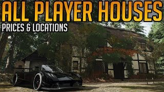 Forza Horizon 4: All 12 Buyable Houses & Castles - Prices, Locations & Perks