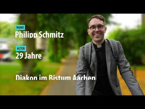 Diakon Philipp Schmitz - Auf dem Weg zur Priesterweihe