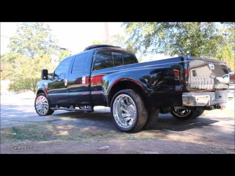 """WhipAddict: 2 Chainz Ford F350 Super Duty on 24"""" Forgiatos by Certified Whips"""