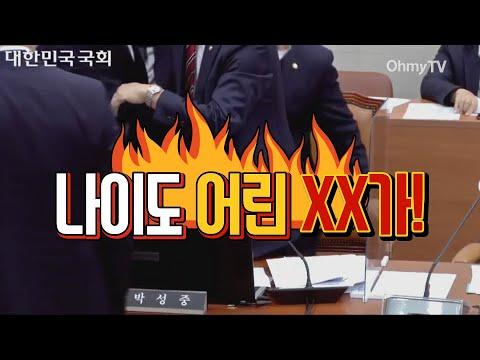"""""""나이 어린 XX가"""" 고성과 막말의 국회 과방위 국감 현장"""